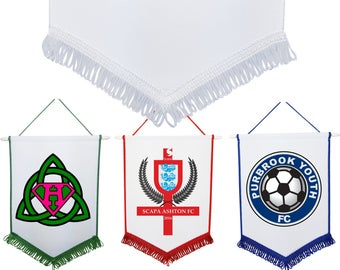 Personalised Pennant 3 sizes / colours Custom Print