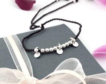 Minimal jewelry silver sterling, friendship bracelet, dainty friendship bracelet, minimalist bracelet, minimal jewelry for woman, 925 silver