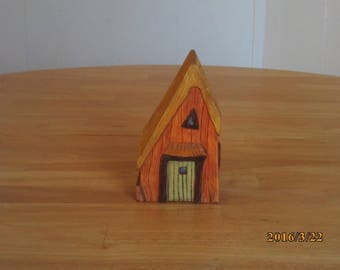 gnome home,fairy house,mini cottage