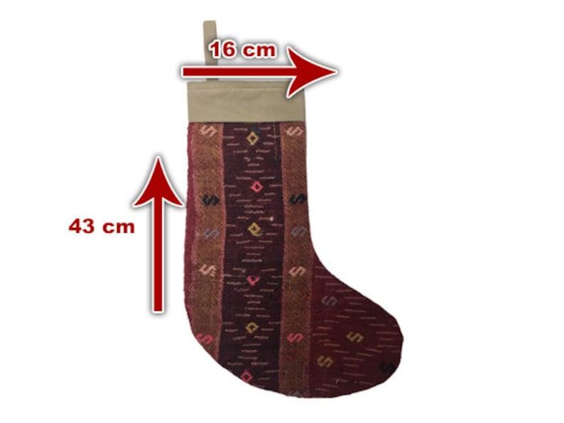 Handmade Decorative knitted christmas stockings Set Of 3 New Year Stocking Christmas Kilim Stockings Gifts Rugs Christmas Hats