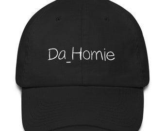 3c1dbe5daae Da Homie Black Unisex Cool Dad Hat