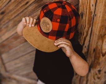 3bd5b260411 Toddler plaid hat
