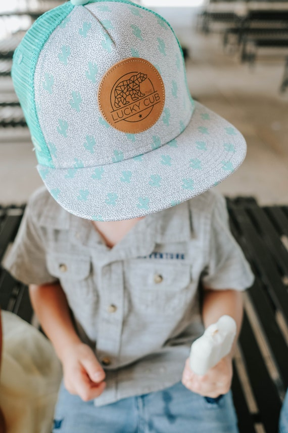 Cactus Trucker Hat Kids Snapback Hat 20 months 4yrs  83310b83a8f2