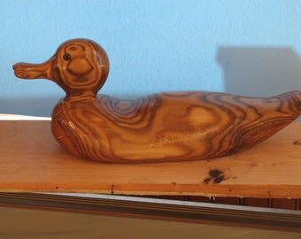 Varnished sumac duck