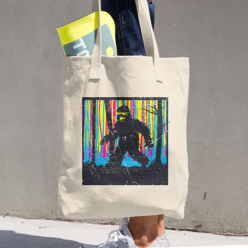 Gifts for Women Funny Gift Ideas Novelty Bag Funny Tote Funny Gifts Funny Bigfoot Tote Novelty Tote Bigfoot Tote