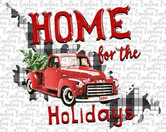 Home For The Holidays Newfoundland and Labrador clipart, instant download, Sublimation graphics, PNG