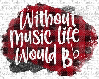 Without music 2 clipart, instant download, Sublimation graphics, PNG