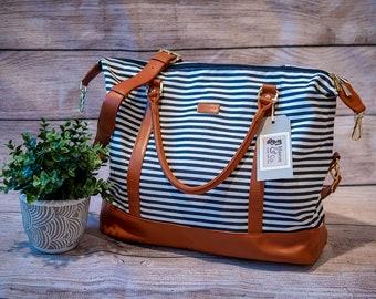 The Jessica Bag- Perfect as a Hospital bag, Weekender bag, Pump bag