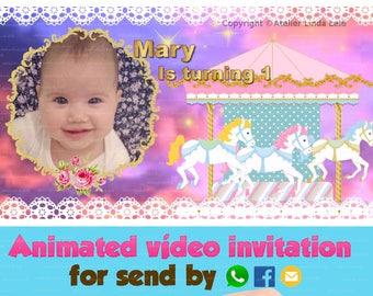 Carousel Invitation - Animated video invitation