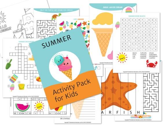 Summer Activity Kit for Kids