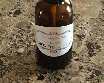 Vanilla and Lavender infused oil. Can be used for the mile high massage, or just as a topical. Strength can be customized.