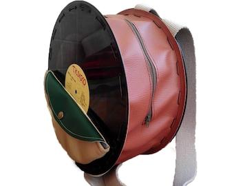 vinyl backpack