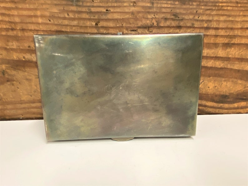 Silver Plate Jewelry Box Ornate Silver Jewel Box Vintage Silver Metal Jewelry Box Velvet Lined Silver Etched Jewel Box