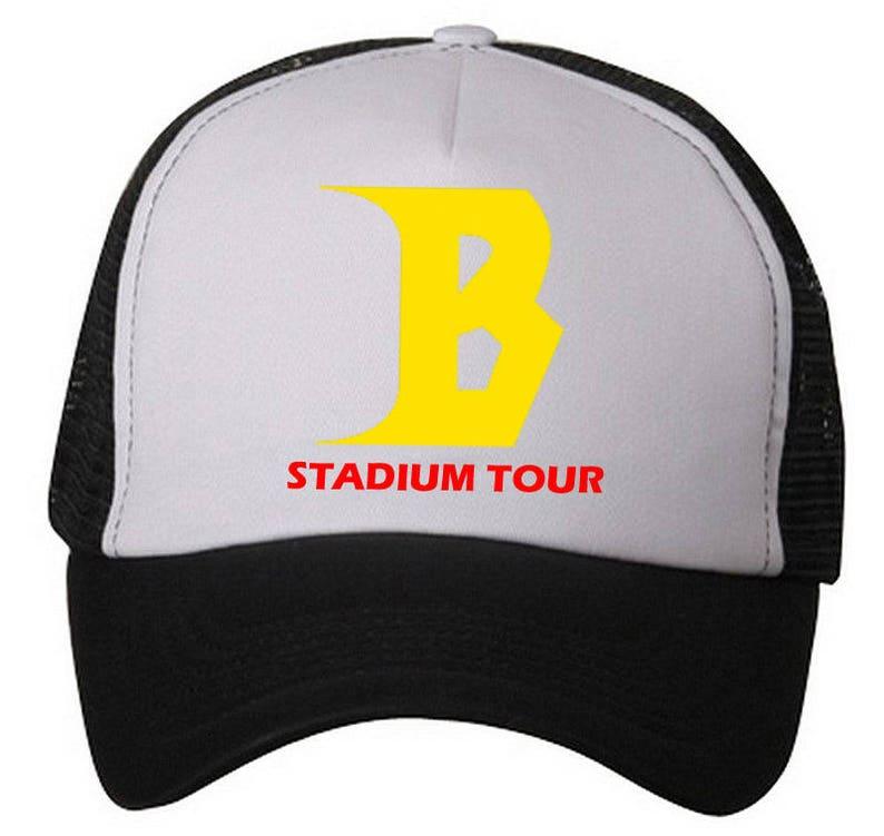 8d0cbf2bdf7 Justin Bieber Trucker Hat ~  STADIUM TOUR ...Adjustable