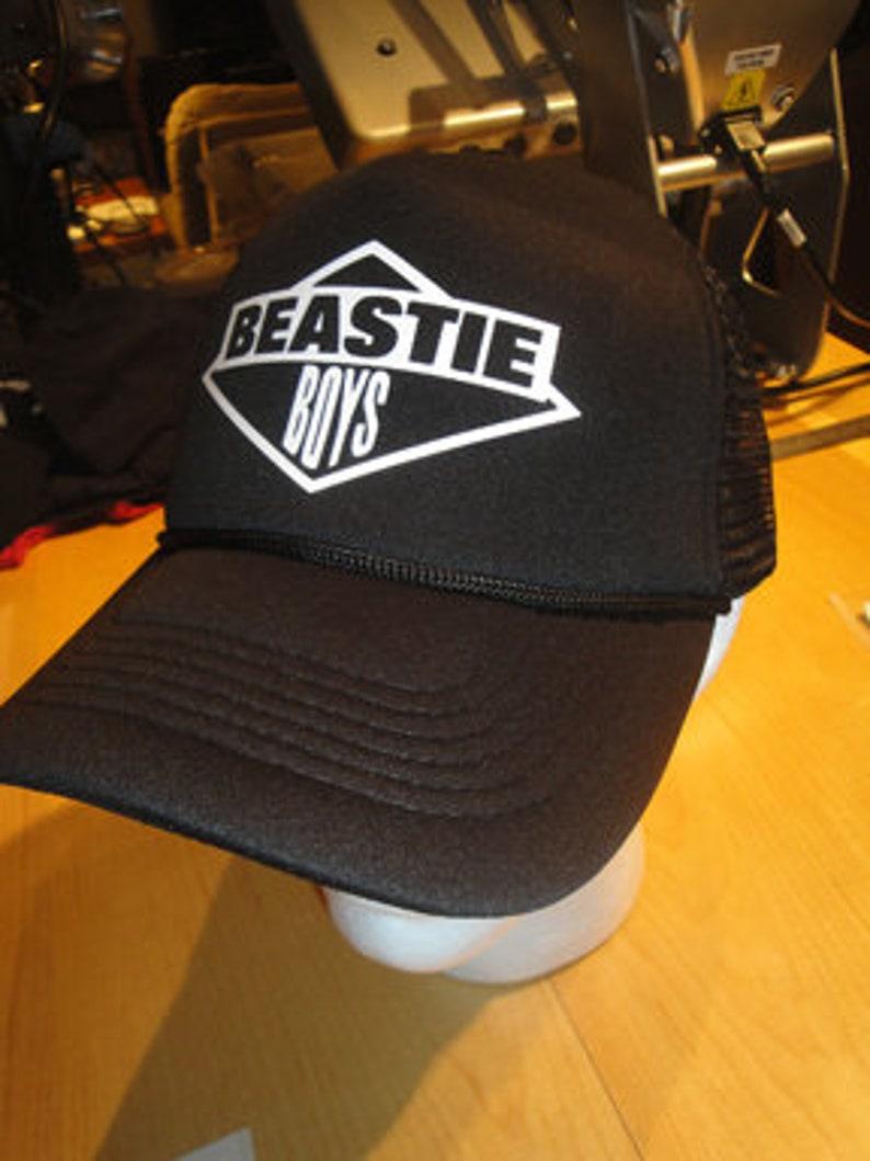 Beastie Boys Trucker Hat One Size Fits All  0aa91f9e38ca