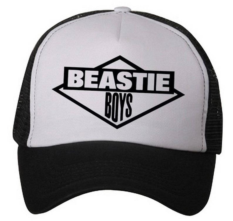 c340465472c81d Beastie Boys Trucker hat Classic Logo Snapback Style...One | Etsy