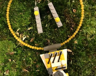 Venus in Lego necklace