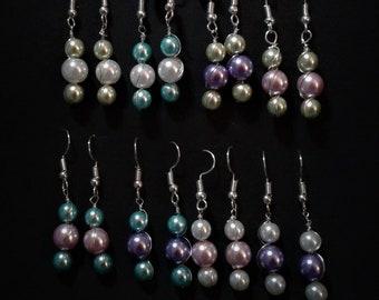 "Fake pearls for earings ""beads bloom"""