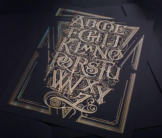 The Alphabet Poster