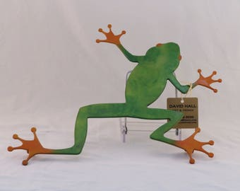 Green Frog Trivet / Wall hanging