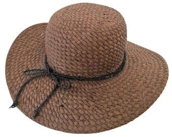 Unique Women Summer Wide Brim Straw Hat