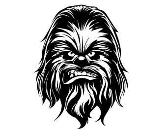 Star Wars Chewbacca Head