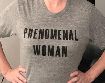 511ed6d7e Phenomenal Woman poem ladies t-shirt