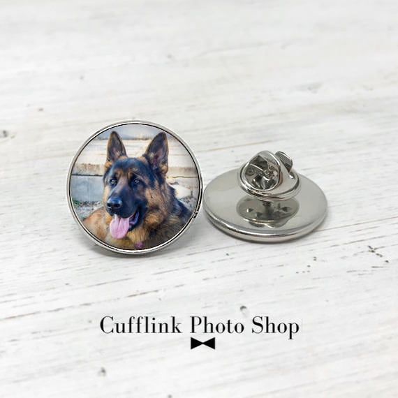 Custom Photo Lapel Pin, Custom Pet Pin, Personalized Gift, Pet Memorial  Pin, Best Friend Gift, Gift for Dog Lover, Unique Gift for Him