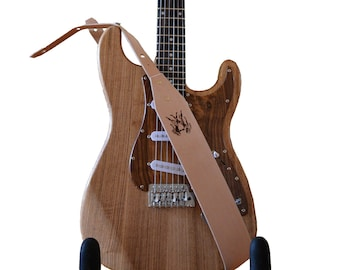 Custom Leather Guitar Strap, musician, Custom Design Guitar Strap, Handmade Guitar Strap, Acoustic Guitar strap, Electric guitar strap,