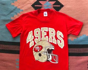 17ac2f3af Vintage San Francisco 49ers Tee Shirt