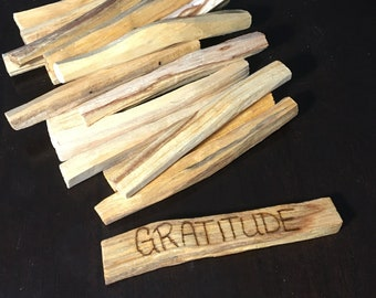 """Gratitude Palo Santo Smudge Stick 4"""""""