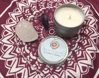 Crown Chakra Soy Candle