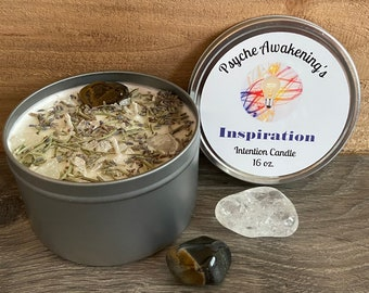 16oz INSPIRATION Intention Candle
