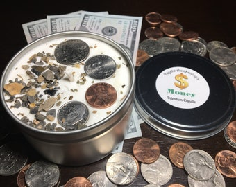 MONEY Attraction, Intention Candle