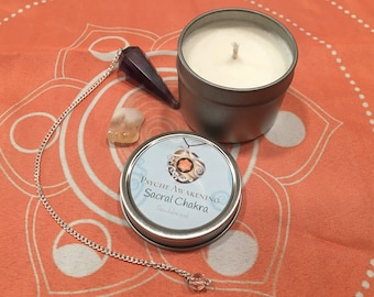 Sacral Chakra Soy Candle