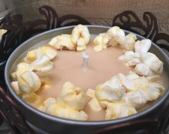 8oz Caramel Popcorn Soy Candle