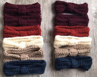 Set of Knit Turban Headbands