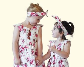 Scarlet Rose Vintage Floral Dress
