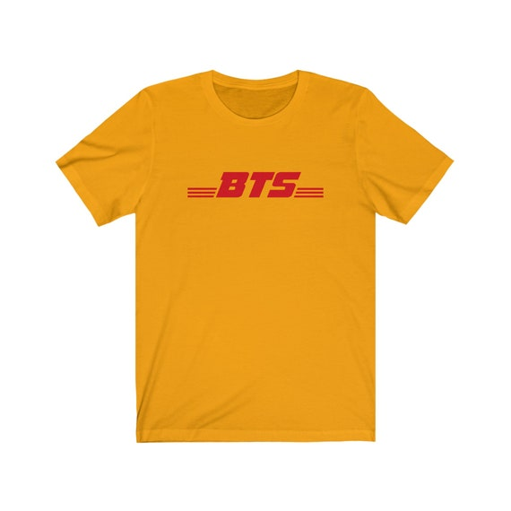 방탄소년단 BTS DHL logo Kpop Bangtan boys Unisex Kpop T-shirt | bts kpop | bts |  bts shirt
