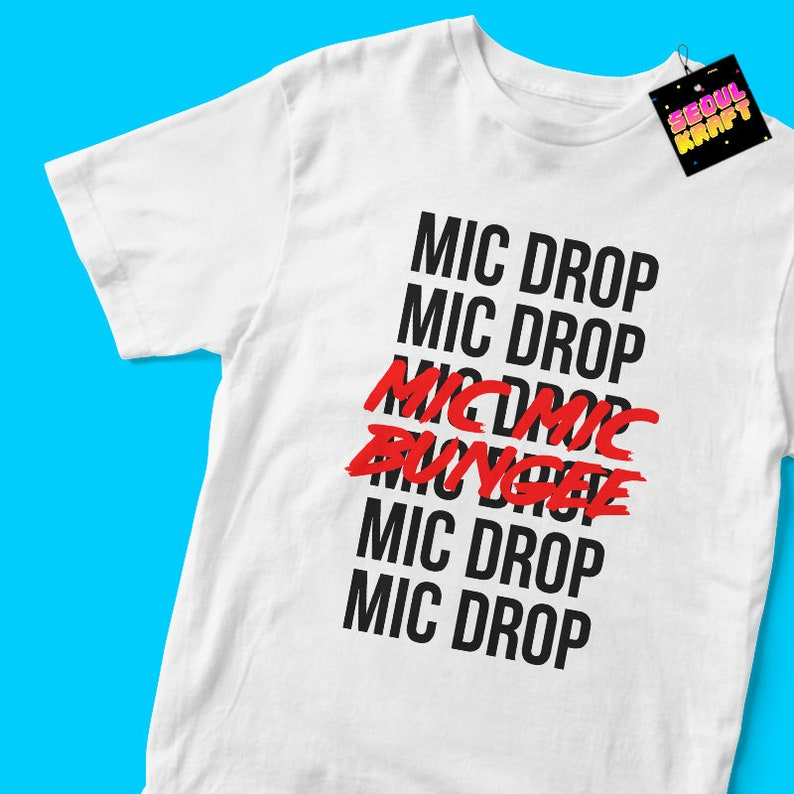 3632f15fc89ba 방탄소년단 BTS Mic Drop lyrics Mic Mic Bungee Love Yourself Album