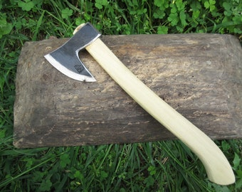 New Stainless Steel 1,21 lbs  0,550 kg Viking Style Bearded Blank Butcher Axe Hatchet  Camping  Hiking  Bushcraft Hunting Survival  Tool