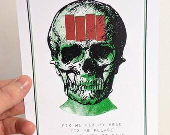 Black Flag - Fix Me print A5 / A4
