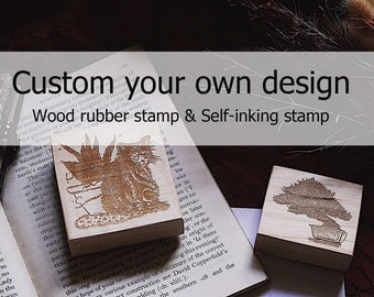 Personalized wedding stamp, Wood stamp Wedding Invitation,stamp self inking, book stamp, teacher stamp