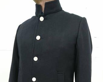 Single Breasted Pea Coat
