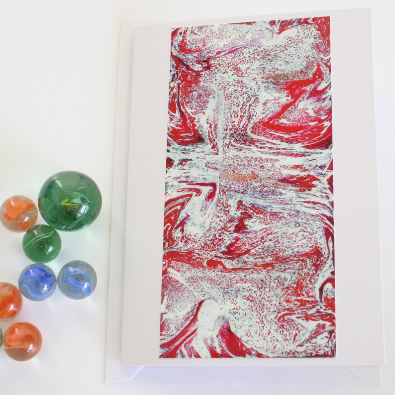 Marbled Birthday Cards Birthday Cards Cards for Her Marbled Cards Handmade Cards Thank You Cards Cards for Him Set of 6 Marbled Cards