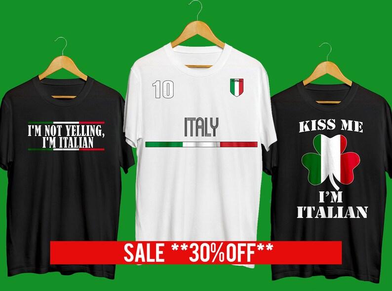 3f0ac9e1b Italian T-shirt Funny Italian T-shirt I'm Not Yelling | Etsy