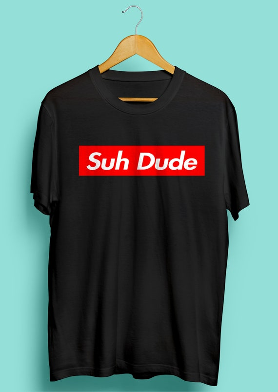 Suh Dude Shirt Red Box Funny Meme Shirt Suh Dude Red Boxt Etsy