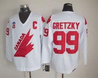 low priced 4f032 6e13d Wayne gretzky jersey | Etsy