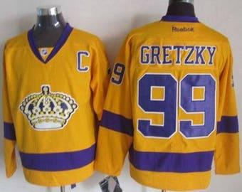 76469989ae4 90s Reworked Los Angeles Kings LA Kings Wayne Gretzky  99 Custom Hockey  Jersey Mens