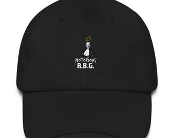 Notorious RBG Ruth Bader Ginsburg Supreme Court Justice Tee Dad Hat 905627e2e9b